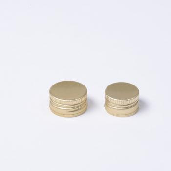 Schraubverschluss für Flasche goldfarbig, Durchmesser 28mm