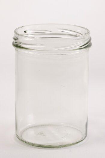 Konfitürenglas 435 ml rund aus Weissglas, ohne Deckel TO-82