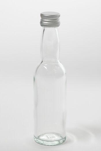 Portionenflasche 40ml Weissglas mit Gewinde 18 mm